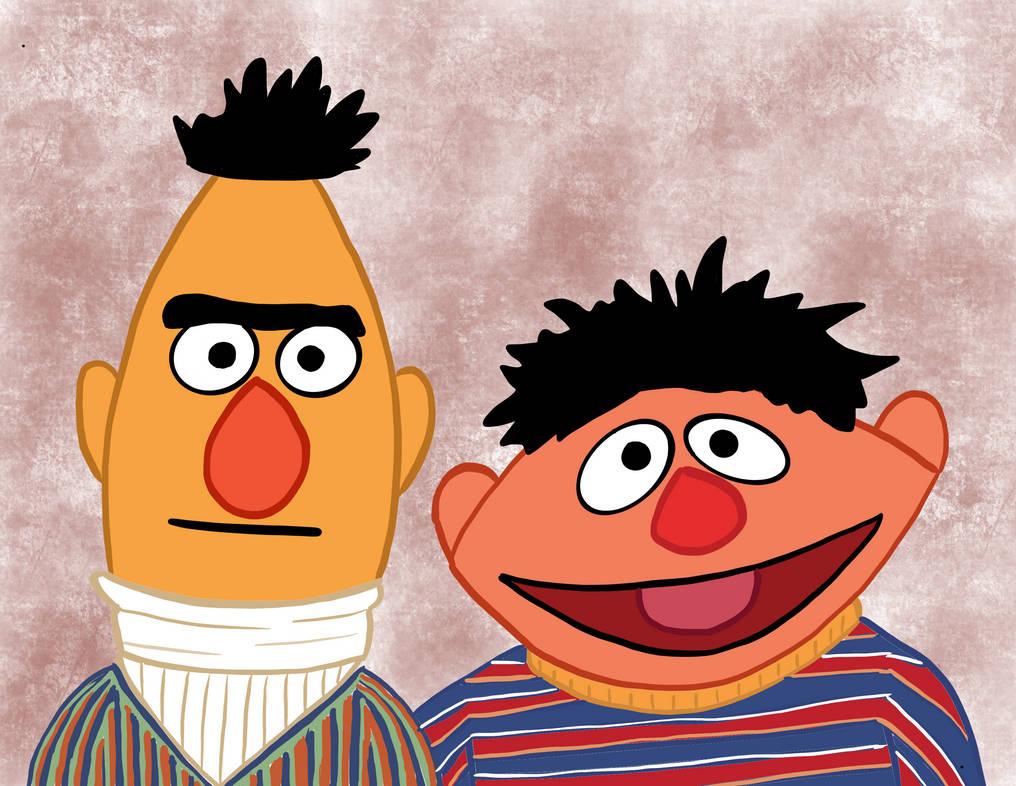 Bert And Ernie S Apartment Portrait By Randomlygenyvr