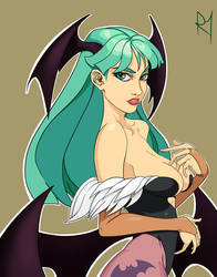 Morrigan by Draw-Bert