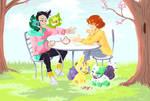 [PKMNation] Monthly Theme: Spring tea time