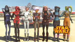 MMD Star Wars Girls collection