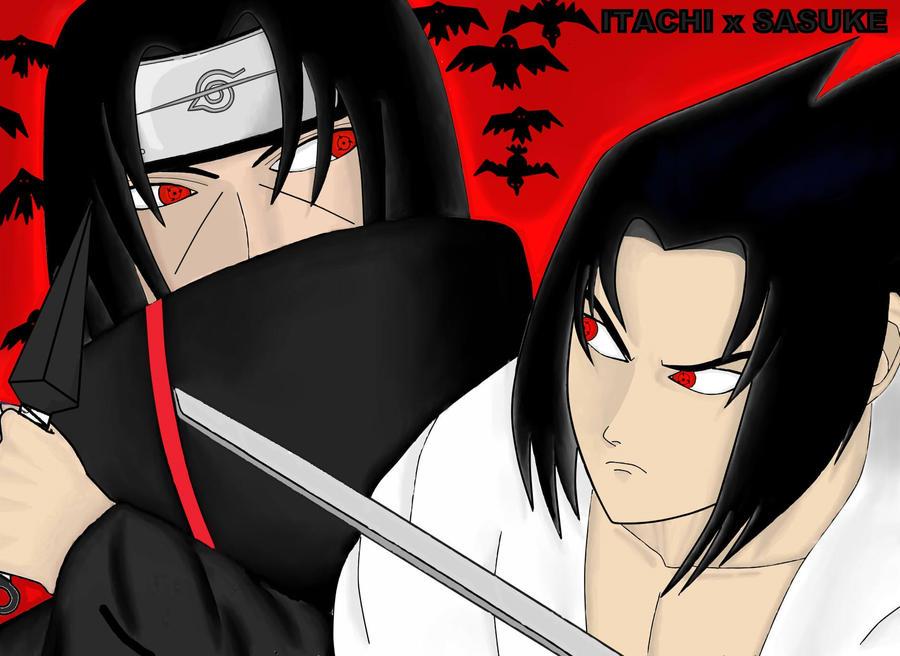 Itachi X Sasuke By HACONIEL On DeviantArt