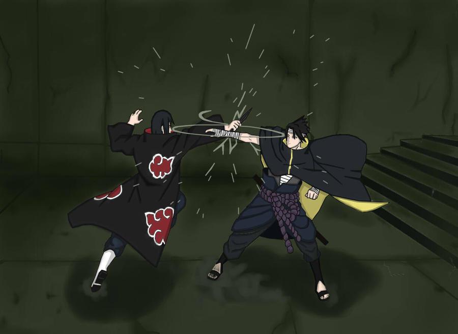 Itachi+vs+sasuke+pivot+battle