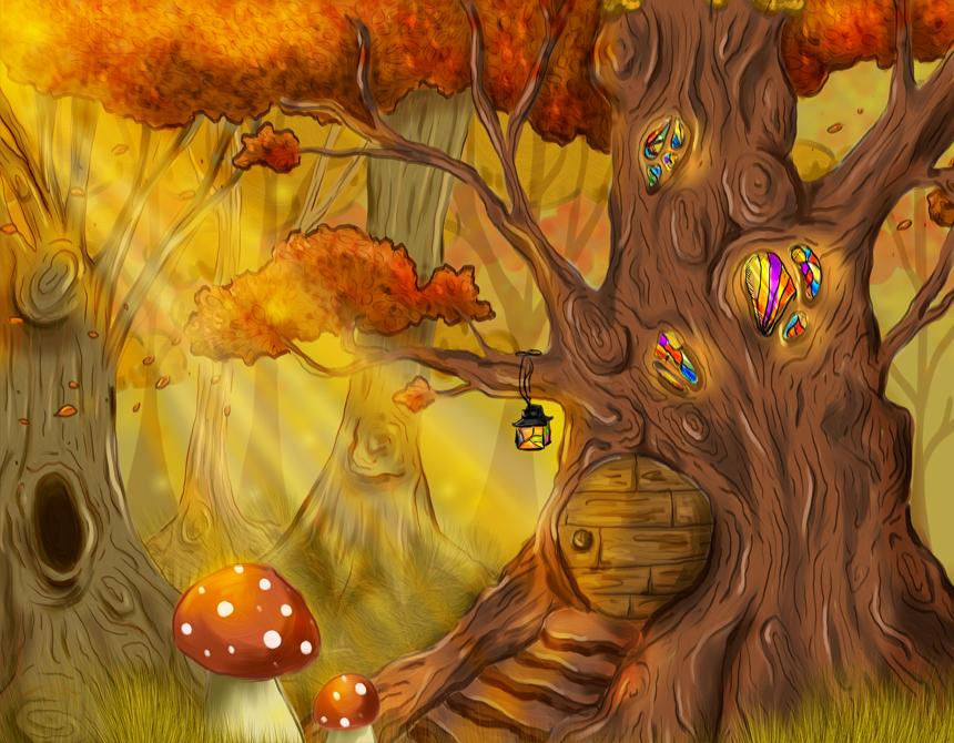 Fenriok's Tree House: Final by epicondyle