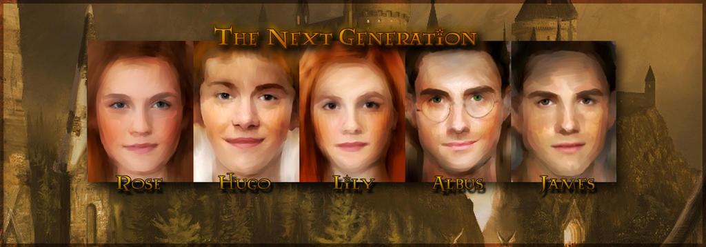 Hogwarts: The Next Generation by epicondyle