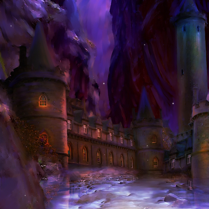 Caiseal Muir Concept: Night by epicondyle