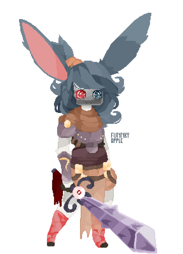 The rabbit twin by DrawingMelon