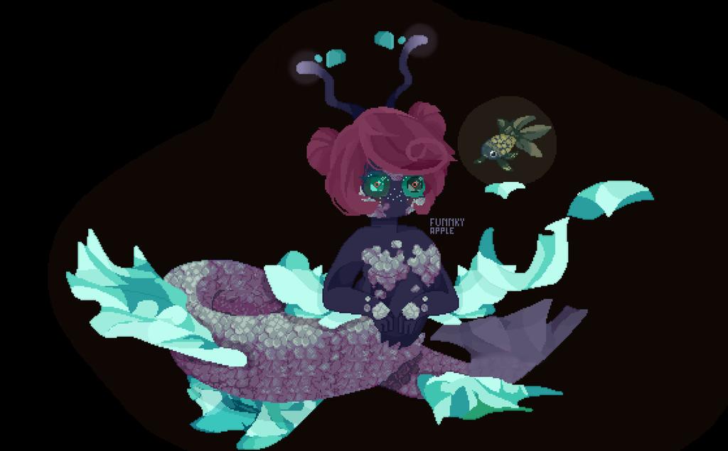 Mermaid by DrawingMelon