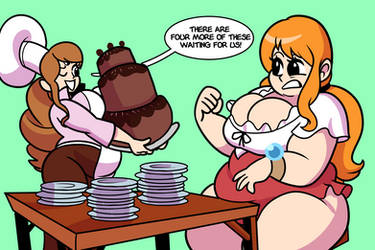 CM- Nami and Pudding (2/3) by SuperSpoe