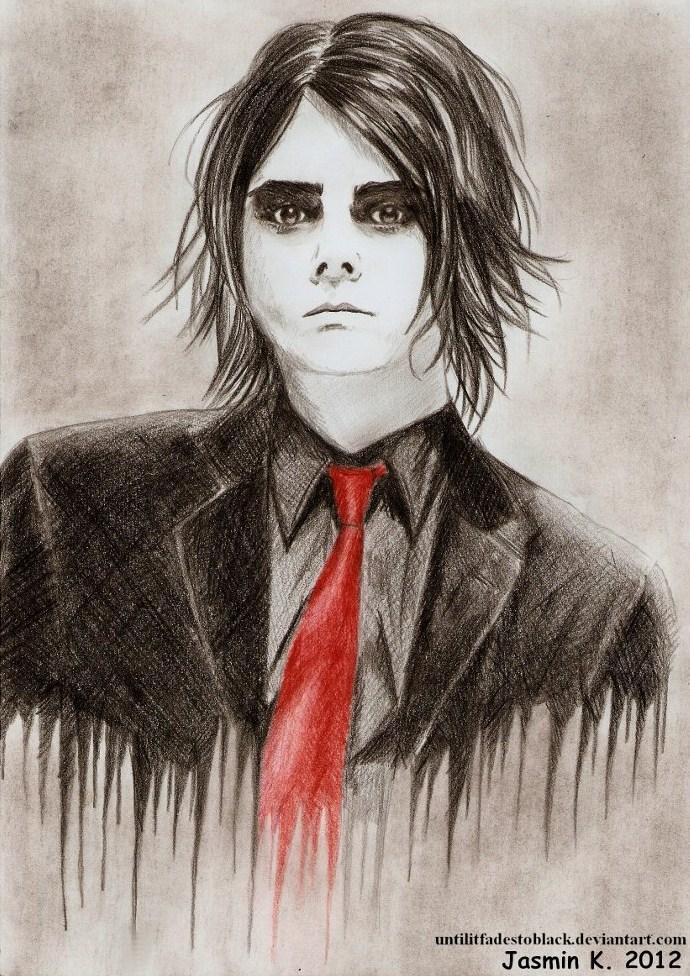 Gerard Way 14 by UNTILitFADEStoBLACK