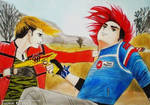 Party Poison and Kobra Kid