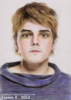 Gerard Way 16 by UNTILitFADEStoBLACK