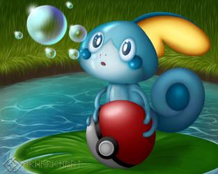 Sobble's Bubble by ArnarionArt