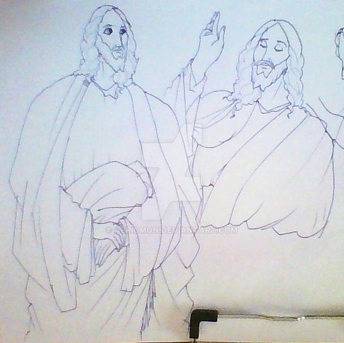 Jesus The Man by aericmon