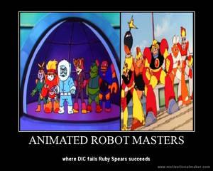 Animated Robot Masters Motivational