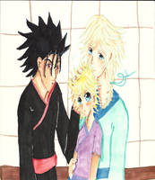 Kurogane Fay and Sora:The Person Most Important by sealandangel