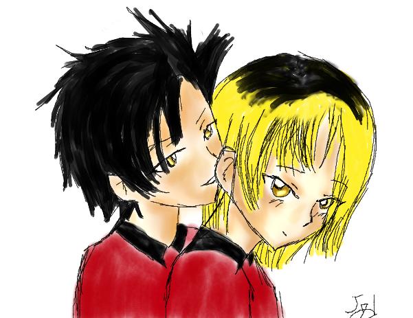 Kuroo and Kenma by sealandangel
