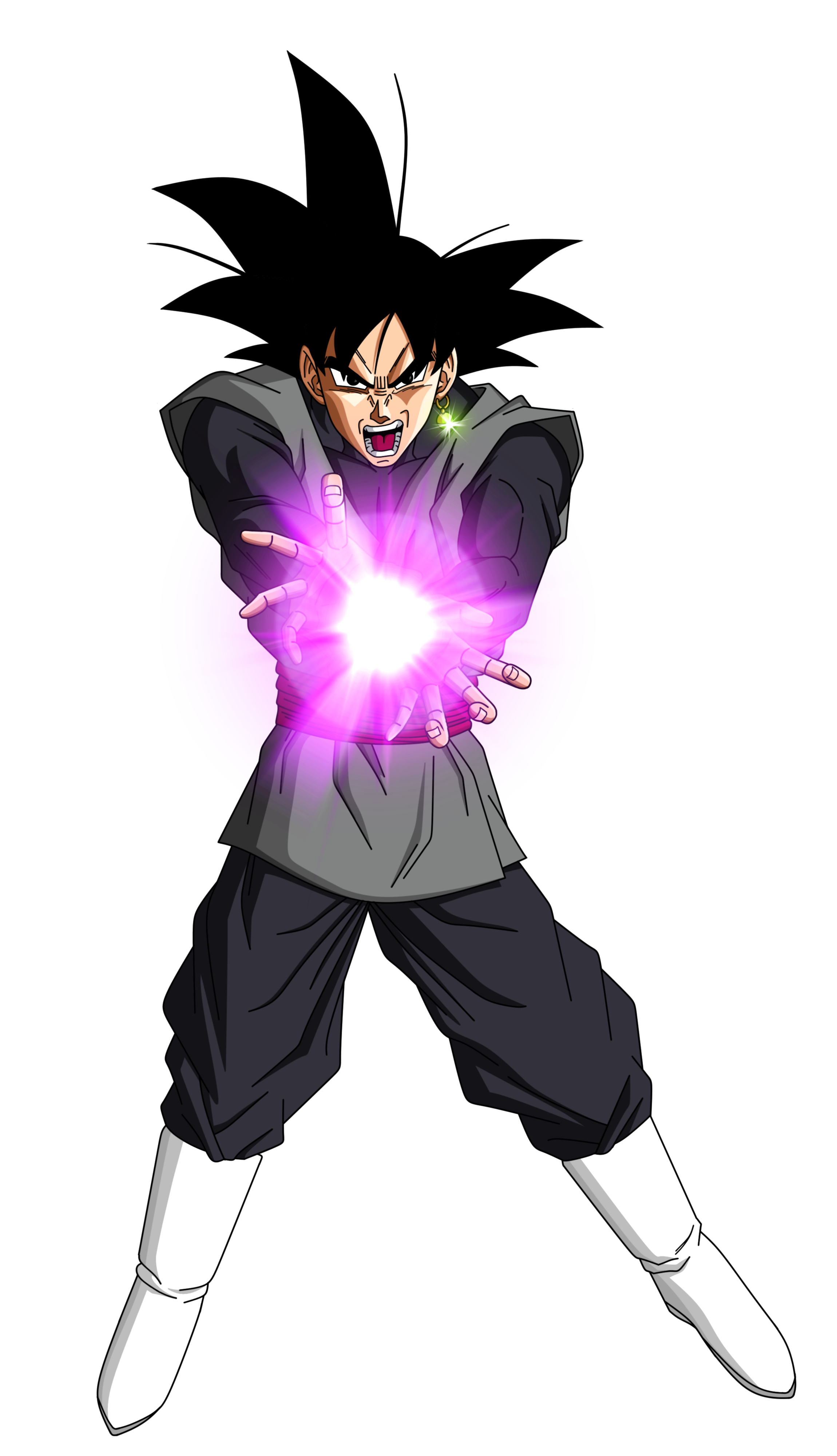 Black Goku Kamehameha by HenriqueDBZ on DeviantArt