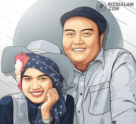 Vector Couple Classy by alamsadar