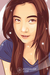 Pretty Girl by alamsadar