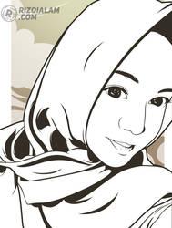 Vector Line Art by alamsadar