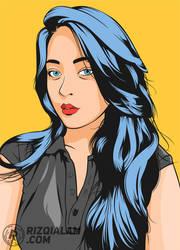 Vector Pop Art Style by alamsadar