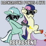 BACKGROUND PONIES FOR LIFE