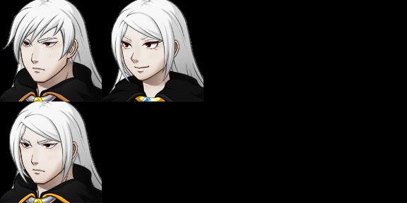 RPG Maker MV: Alucard Face Set by riderman09
