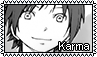 F2U stamp: Karma from Assassination Classroom by Aqua-Spirit22