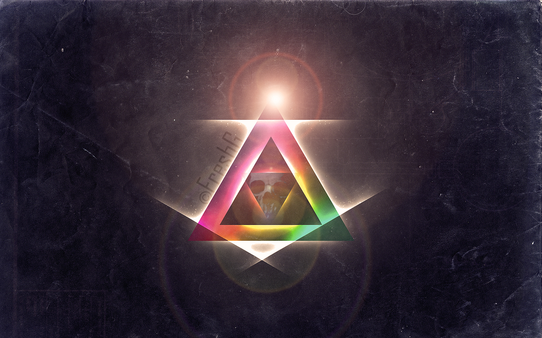 Фото на аву треугольник