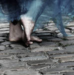 Feet in the street by Trepka
