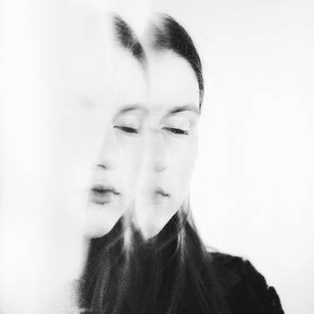 Her reflection by Trepka