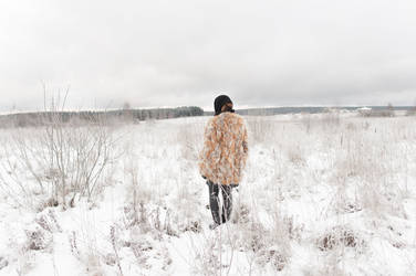 Auruska and all that snow by Trepka