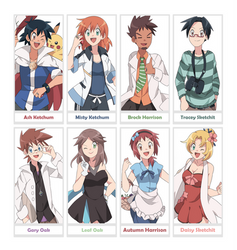 The Adults of Kanto