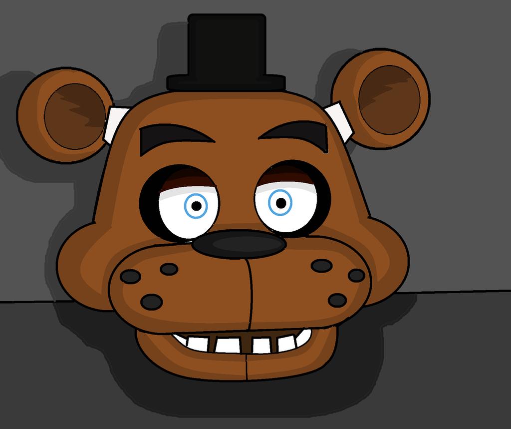 Freddy fazbear mask head by knightatnights on deviantart
