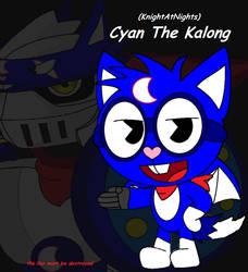 HTF OC - Cyan The Kalong by KnightAtNights