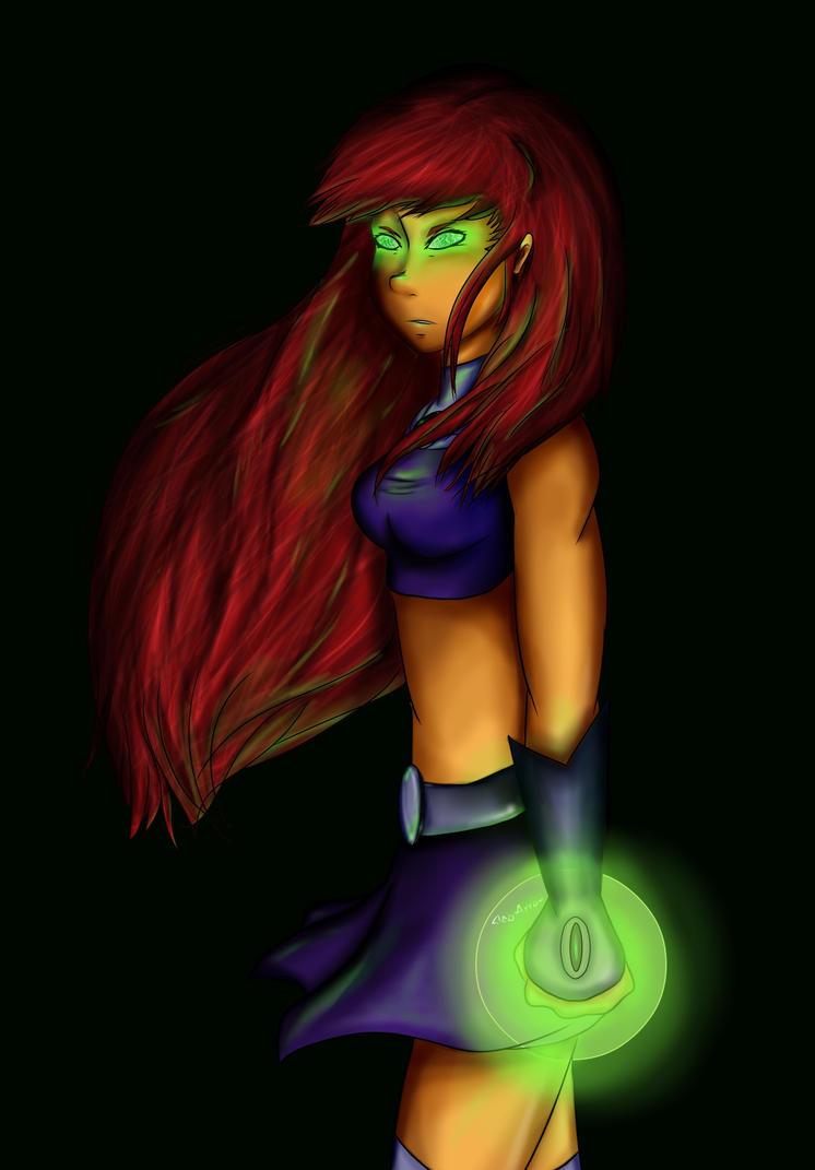 Starfire by CleoArrow