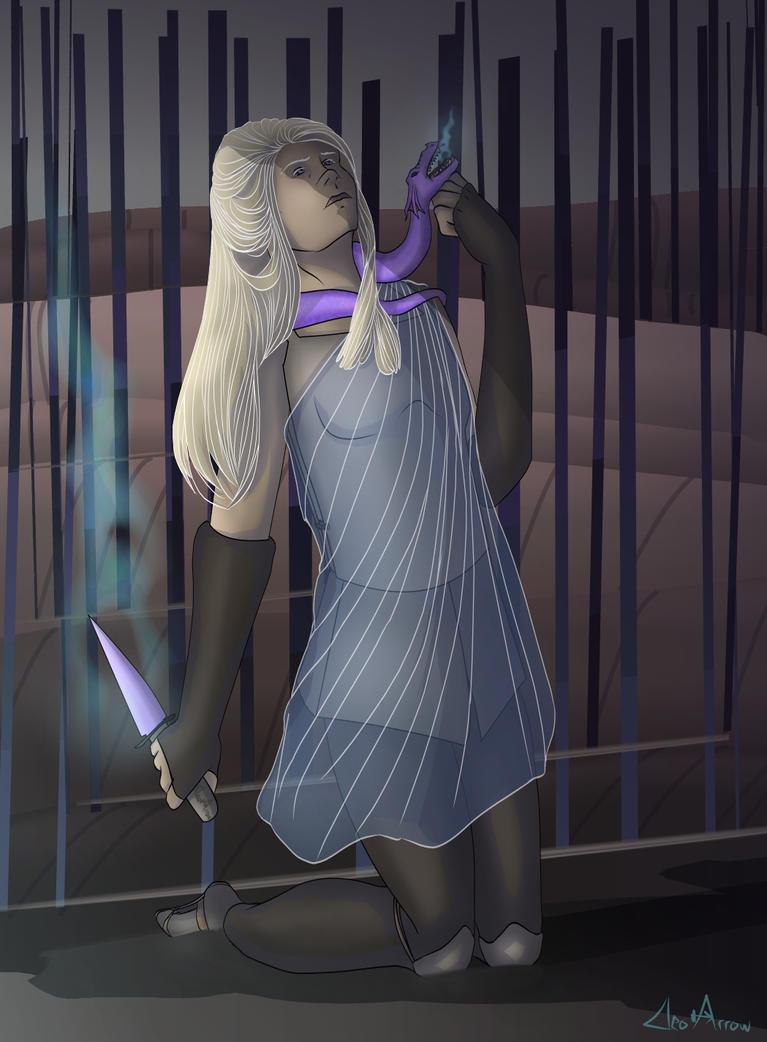 Dragon Princess by CleoArrow
