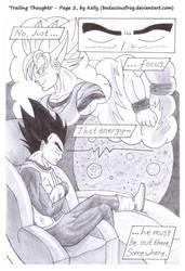 'Trailing Thoughts' - Page 2, VegetaxGoku (DBZ) by bodaciousfrog