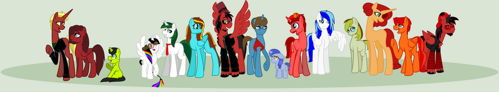 Fanart: MLP Reviewers and Analysts by Kid-Martian