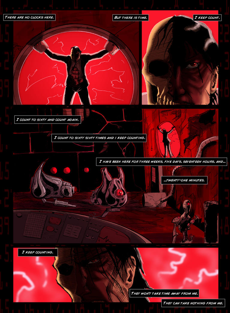 There Are No Clocks Here pg1 by egorger