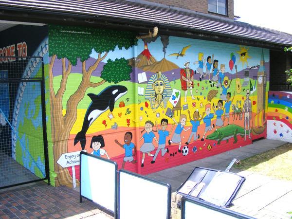 Hambrough Primary school by BogusTheMuralist on DeviantArt