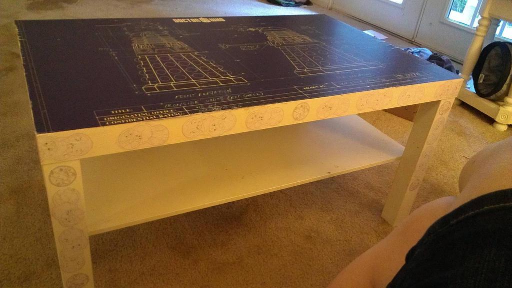lack coffee table hack - dalek blueprintsjeslynphoto on deviantart