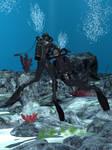 Vintage Diver with retextures-2