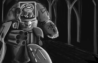 Fanart Friday: Deathwing Terminator
