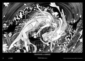 TRESE: Hannah at Ammie by kajobaldisimo