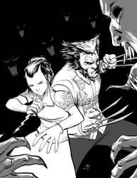 TRESE: Wolverine by kajobaldisimo
