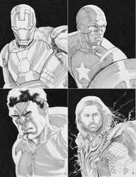 Avengers FCBD 2012 by kajobaldisimo