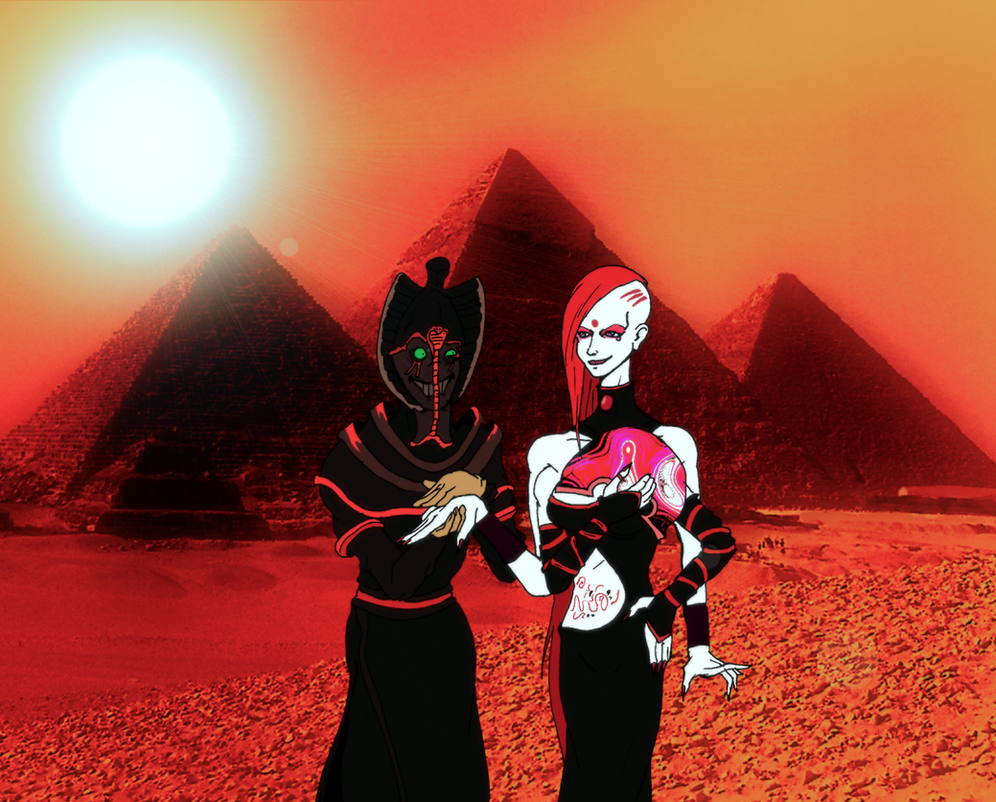 Of Pyramids and a Princess from Mars... by SpikeValance