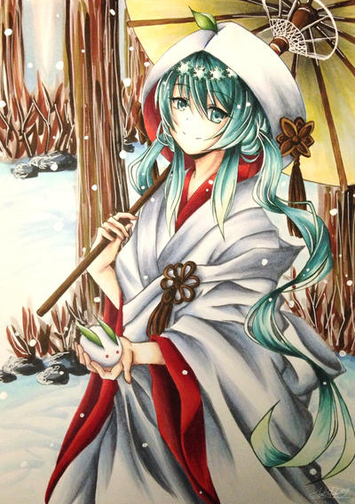 Snow Miku 2013 by Tsiih-chan
