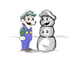A weegee winter by wickedwotwes